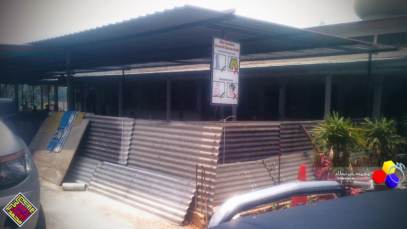 Masjid Jamek Gelang Patah renovasi 19 September 2014 updated