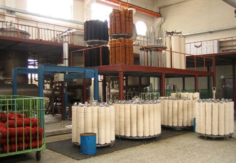 Flow Chart Of Migration Yarn Dyeing Process Textile