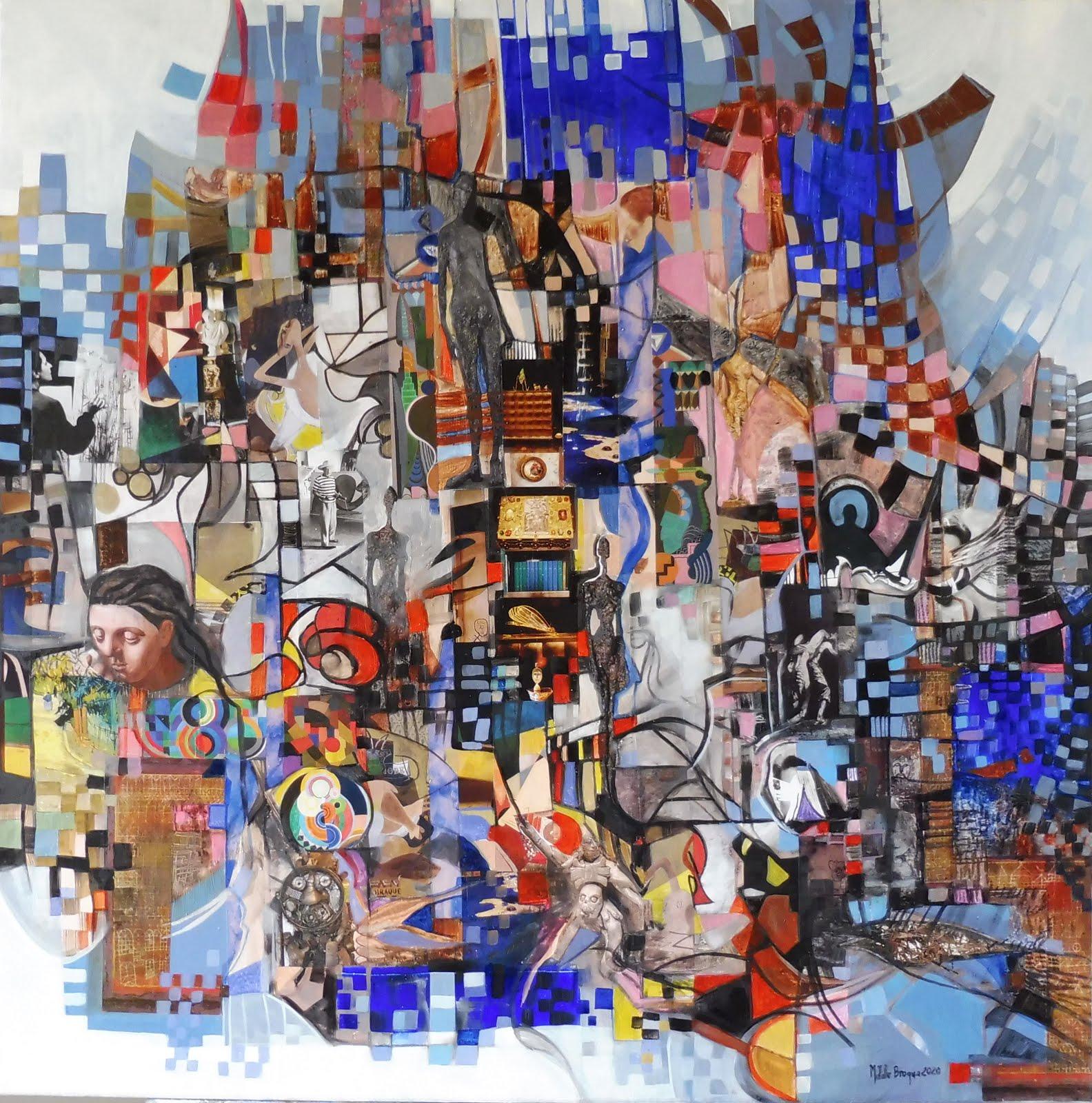 Concordances - 80 x 80 cm - 2020