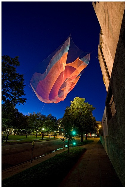 taking imagination seriously Pre-thinking: janet echelman found her true voice as an artist when her paints went missing — which forced her to look to an unorthodox new art material now she.