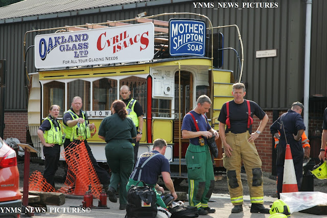 Middleton light railway horse drawn tram accident