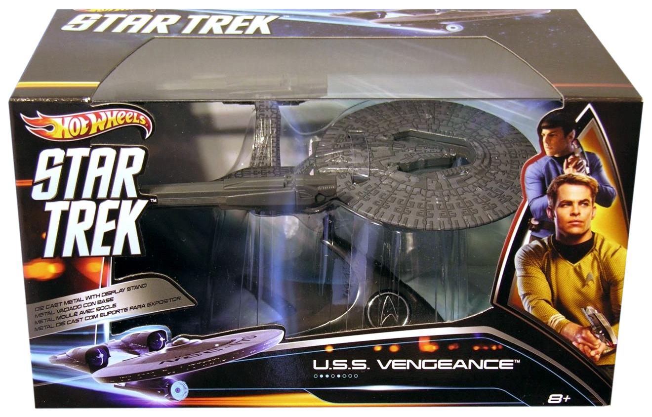 Uss Vengeance Hot Wheels The Trek Collective: N...
