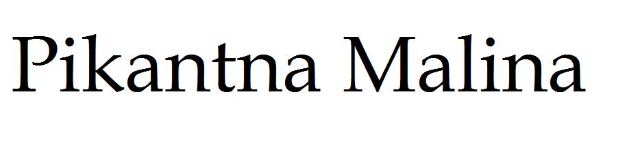 Pikantna Malina