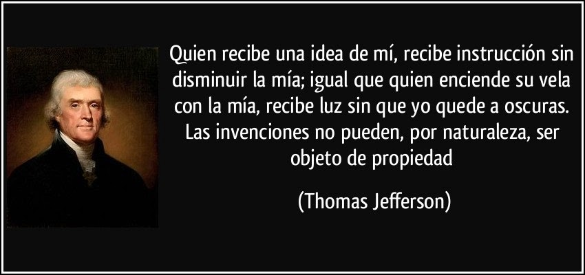 CITA DE THOMAS JEFFERSON