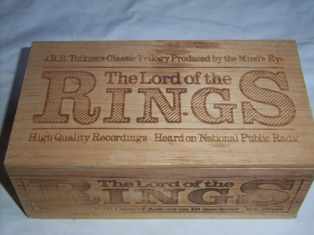 Lord Of The Rings Cassette Box Set
