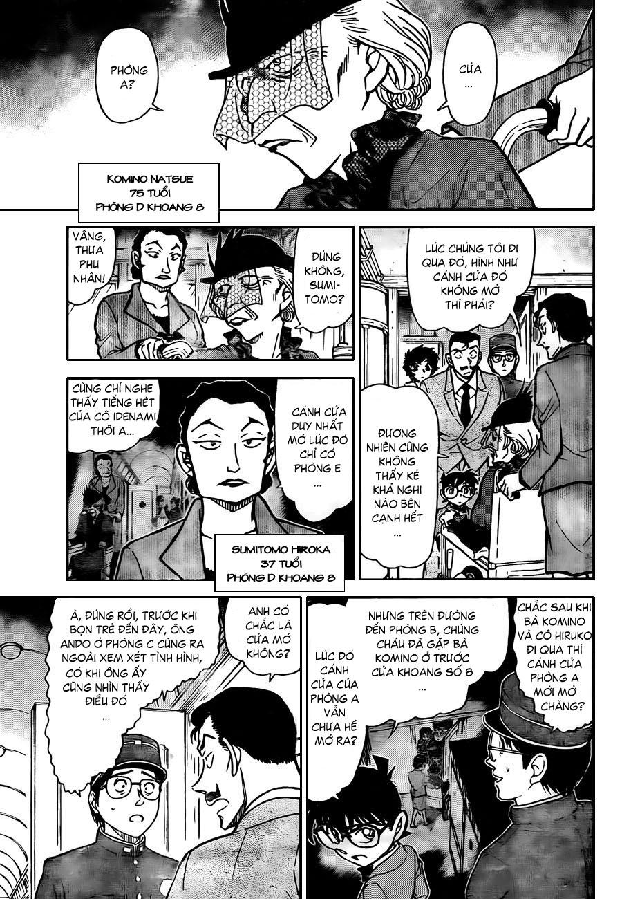 Thám Tử Lừng Danh Conan - Chapter 820 - Pic 12