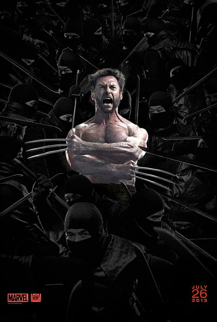 The Wolverine, The Wolverine movie, The Wolverine 2013, The Wolverine poster