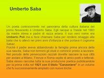 Saba, il più grande poeta italiano del Novecento