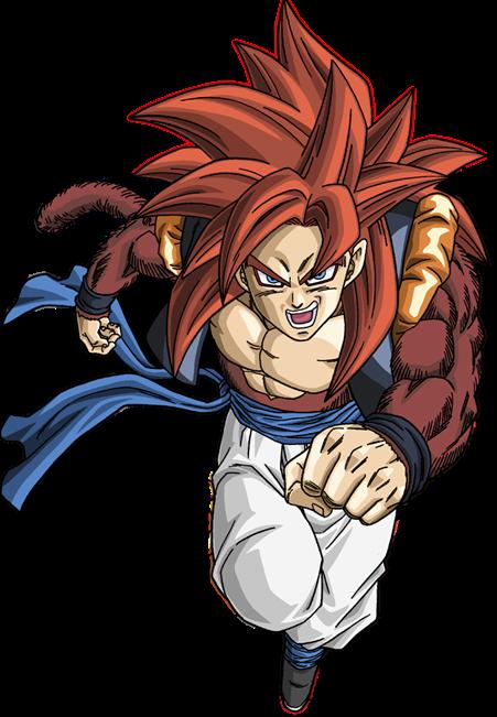 Renders dragon ball z gt af animes winner teste - Sangoku sayen 4 ...