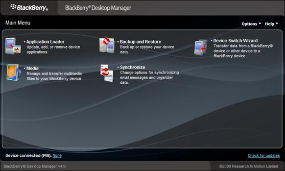 Cara Upgrade OS BlackBerry