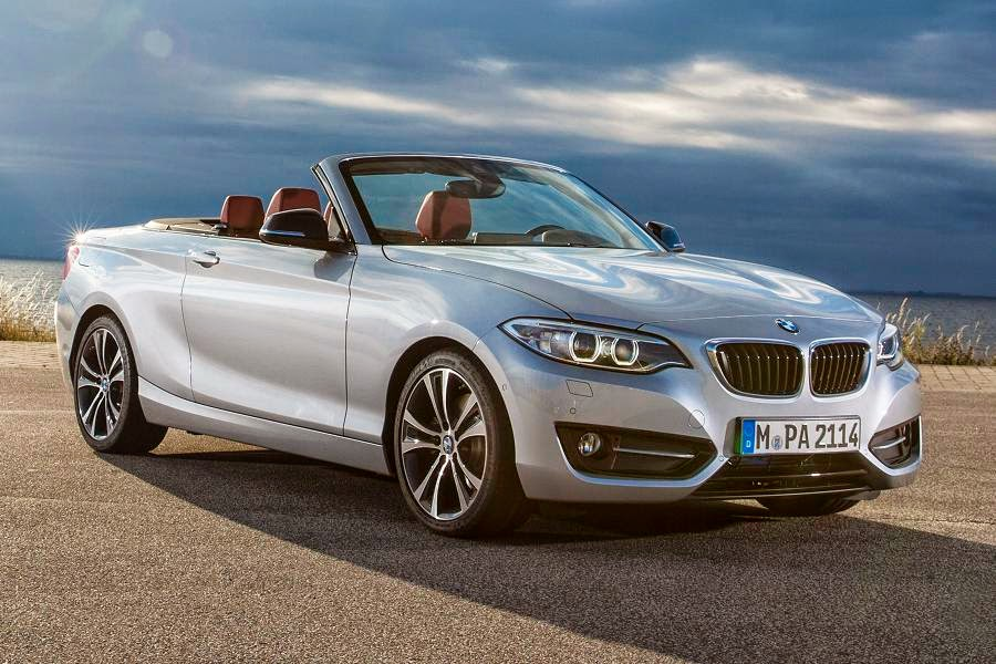 BMW 2 Series Convertible Sport (2015) Front Side