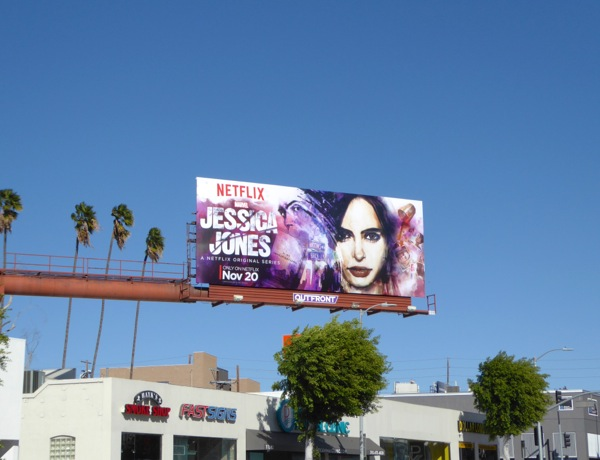 Jessica Jones series billboard