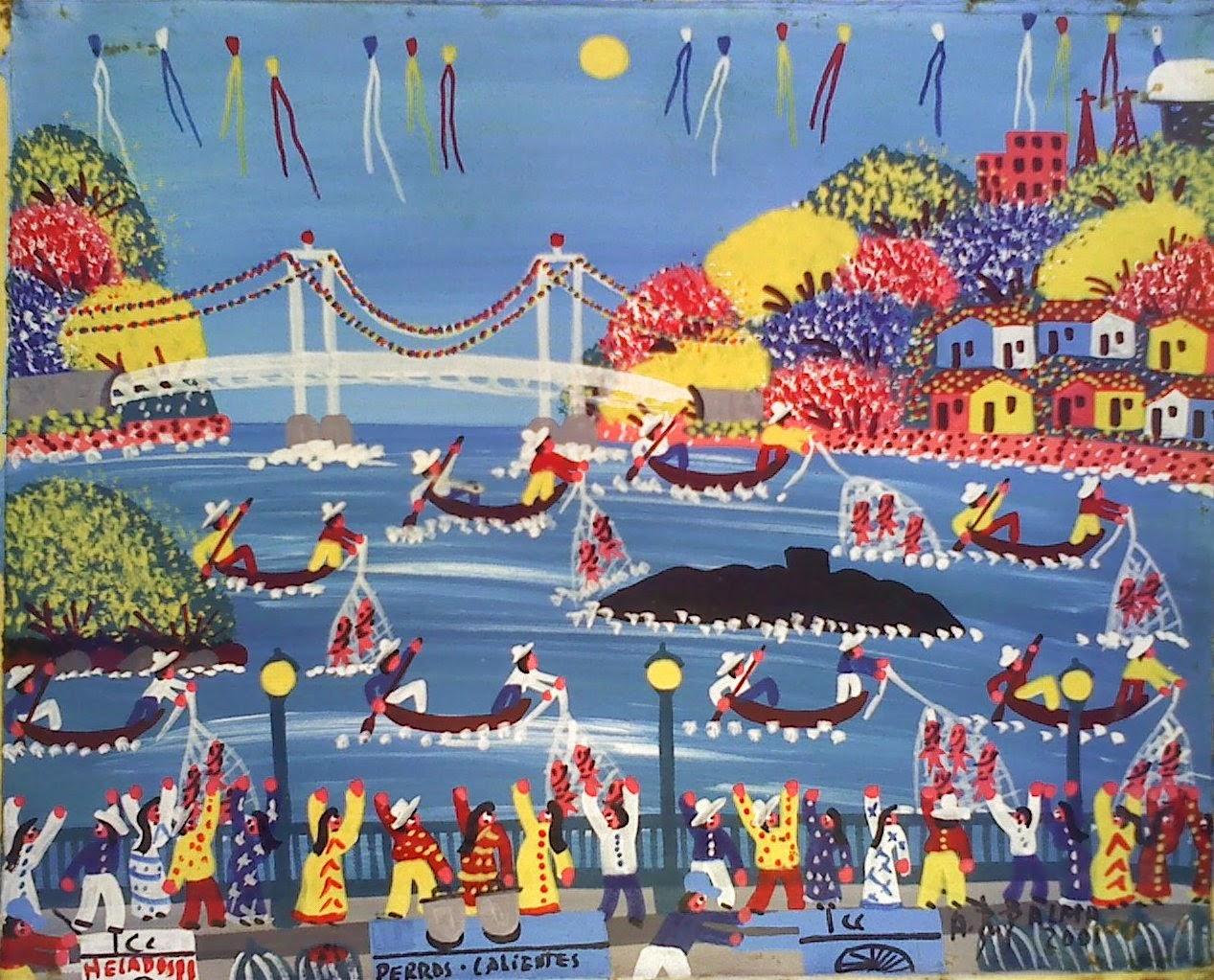 Resultado de imagen de puente simón bolivar pintura
