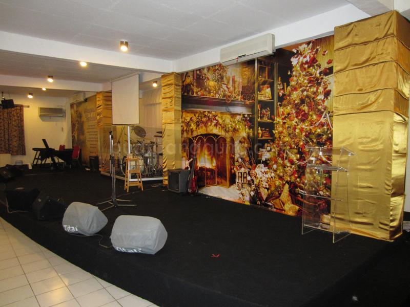 dekorasi panggung minimalis model rumah modern ask home