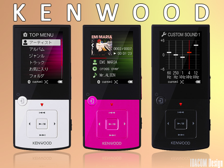 high tech lecteurs MP3 Kenwood Media Keg MG-G608 JVC