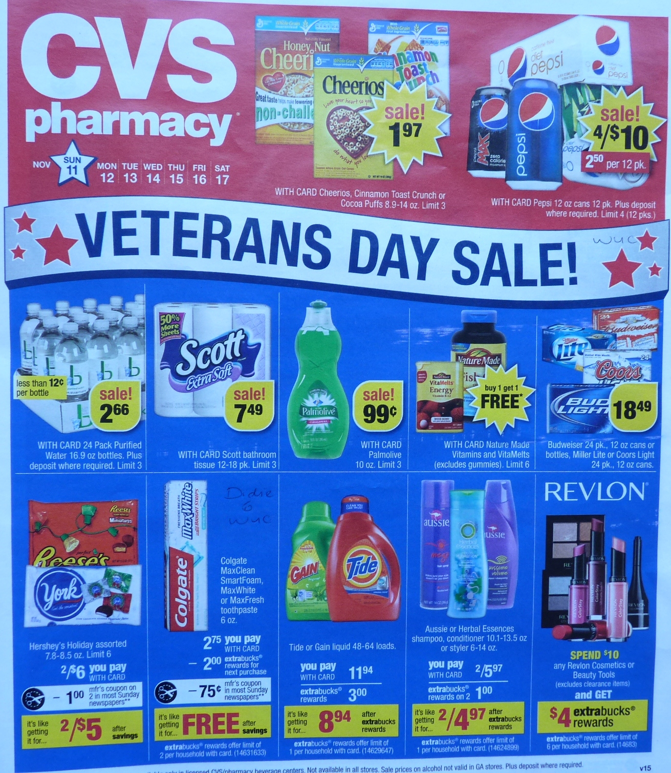 simply cvs  cvs ad scan preview for the week of 11  11  2012