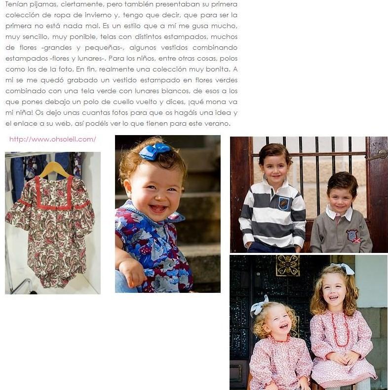 La colecci n en prensa design by mayus - Compritas para los peques ...