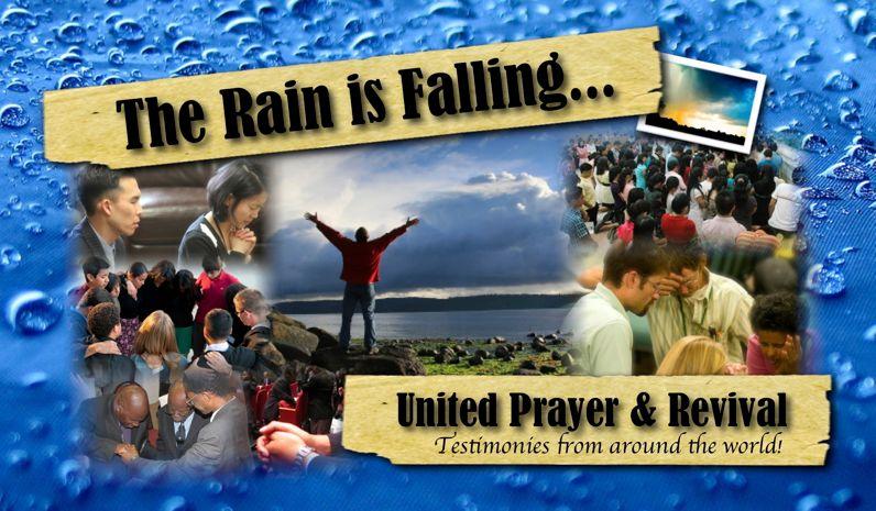The Rain is Falling...