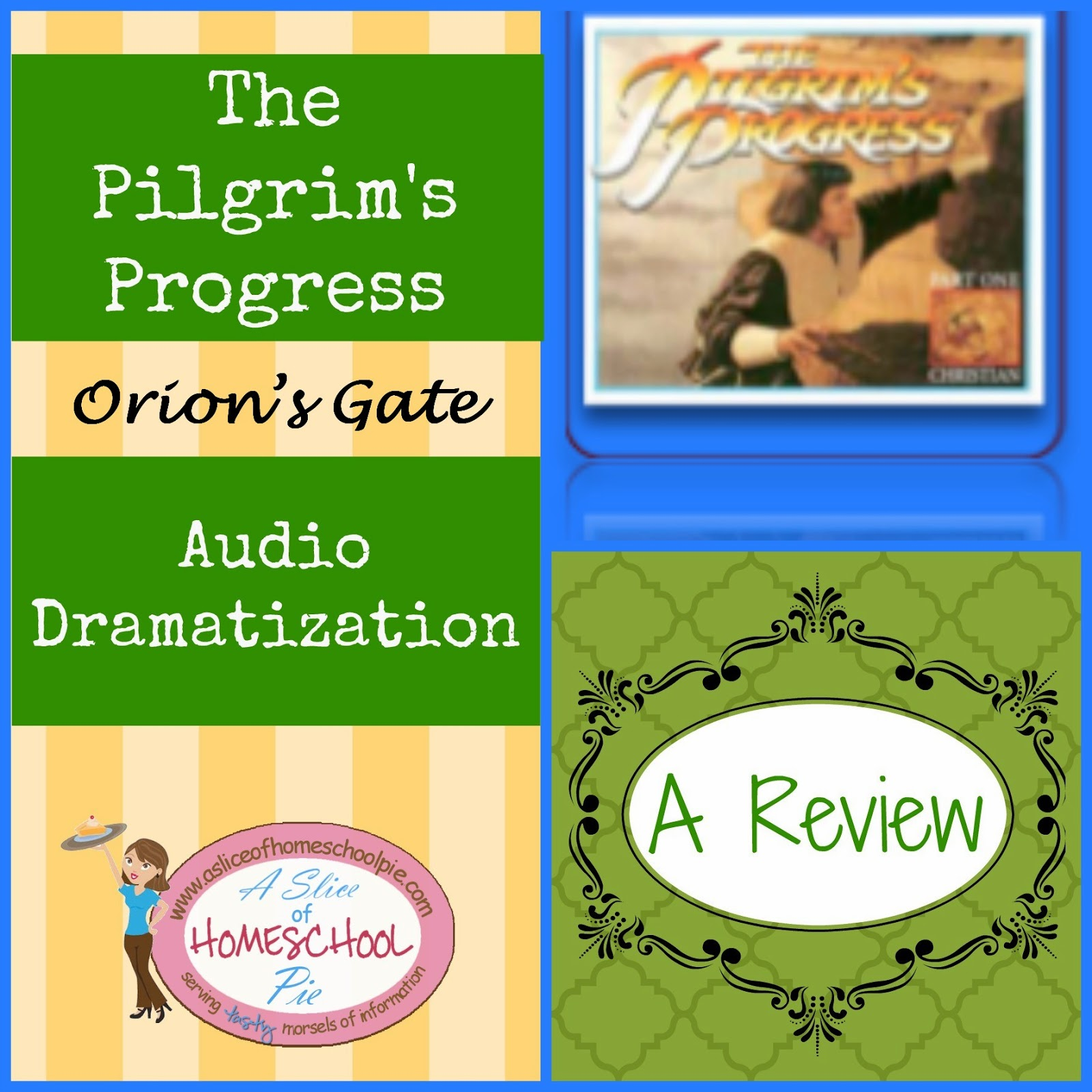 Orion's Gate Audio Dramatization of The Pilgrim's Progress Review by ASliceOfHomeschoolPie.com