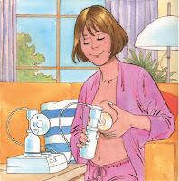 Extracción e conservación de leite materno