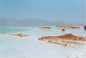 The Dead Sea, laut mati, palestina