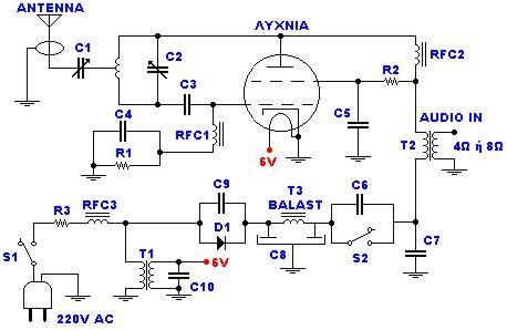 comment construire transmetteur fm 45w avec vanne schema electrique. Black Bedroom Furniture Sets. Home Design Ideas
