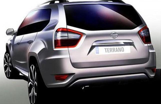 novo Nissan Terrano 2014 traseira