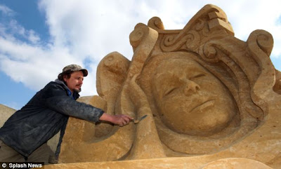 Brighton Sand Sculpture Festival