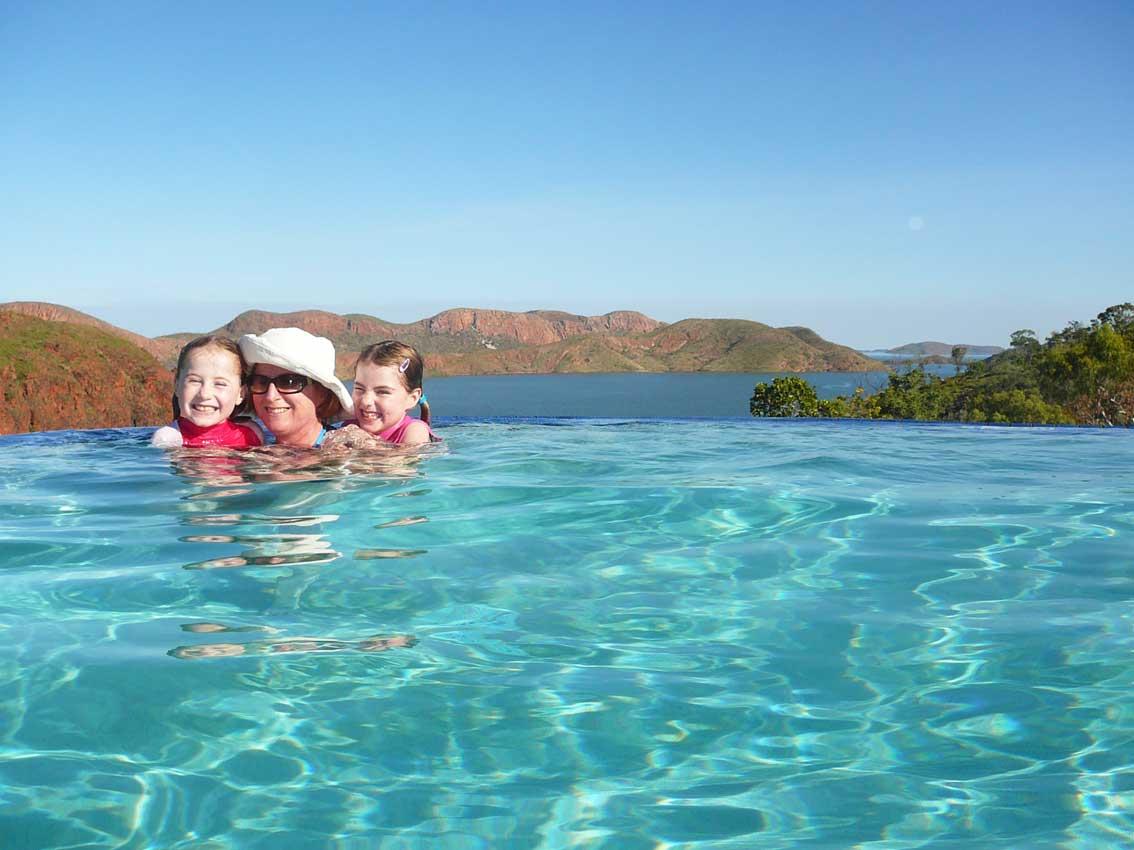 Our Kununurra Adventure Lake Argyle Swim 2011