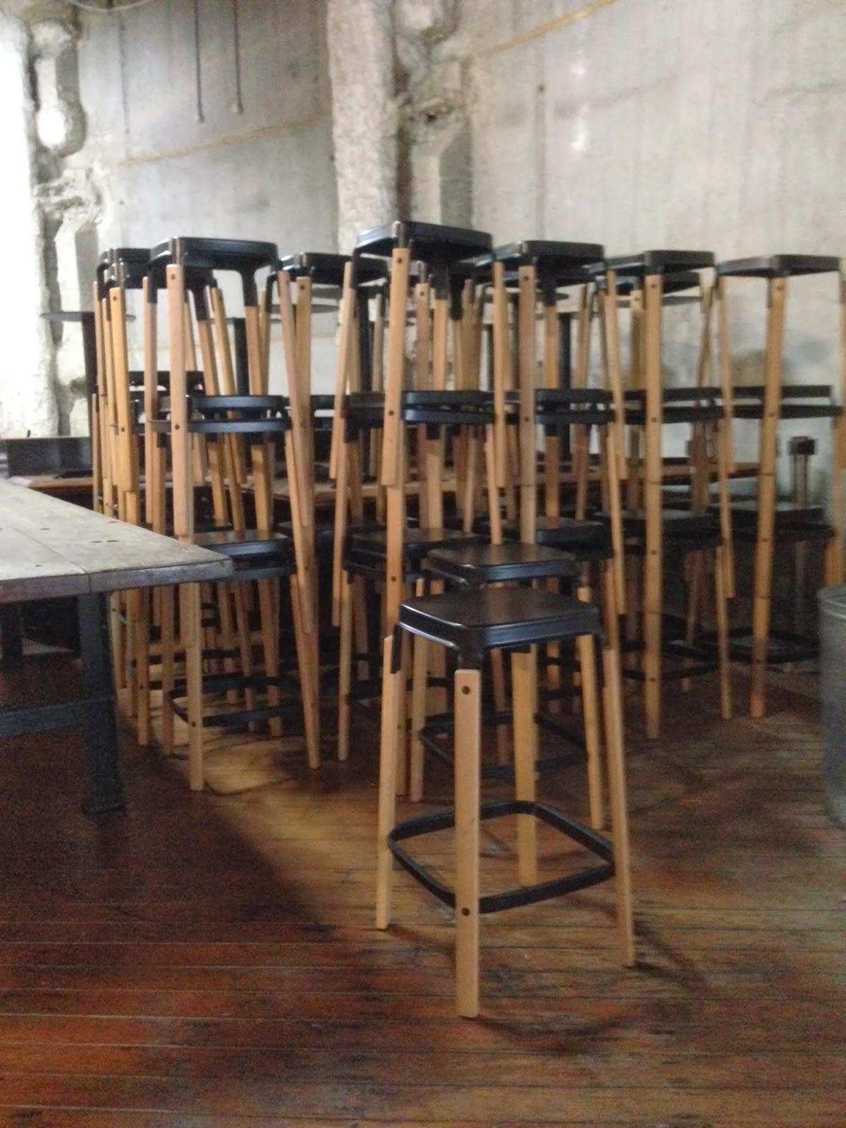 Cafechairs Steel Wood