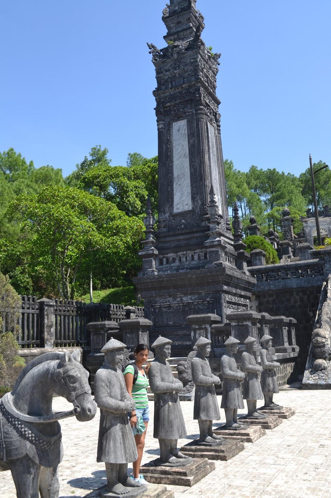 Guardians at Khai Dinh Royal Tomb