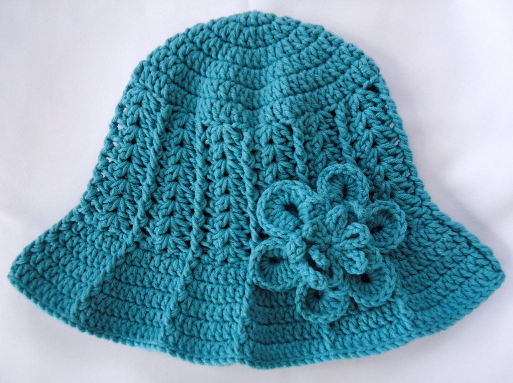 Free Crochet Hat Patterns To Download : CROCHET BABY SUN HAT PATTERN ? Crochet For Beginners
