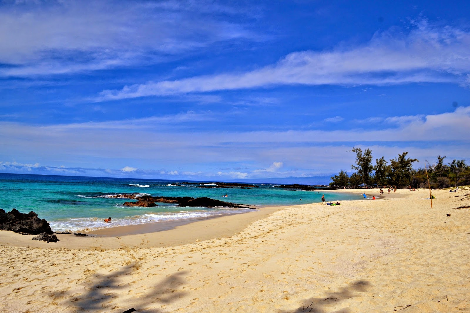 Best swimming beaches big island hawaii the most for Beautiful beaches in la
