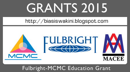 Fulbright-MCMC Education Grant 2015