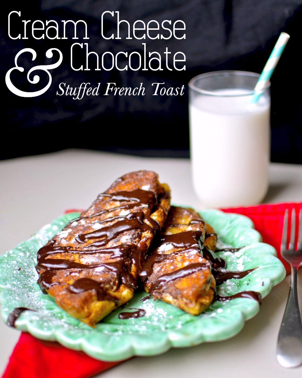 Yammies noshery cream cheese and chocolate stuffed french toast cream cheese and chocolate stuffed french toast ccuart Image collections