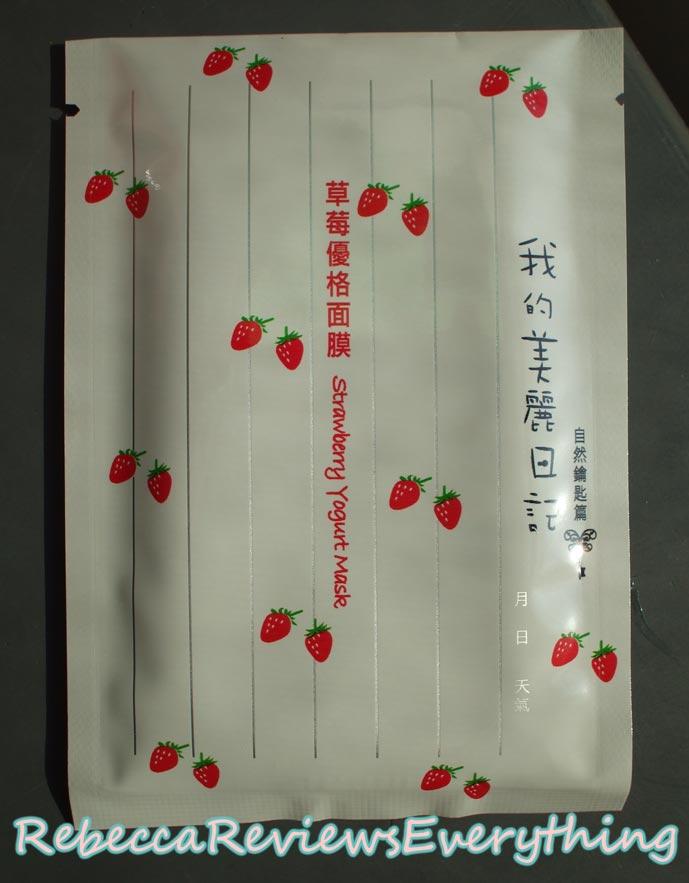 My Beauty Diary Strawberry Yogurt sheet mask