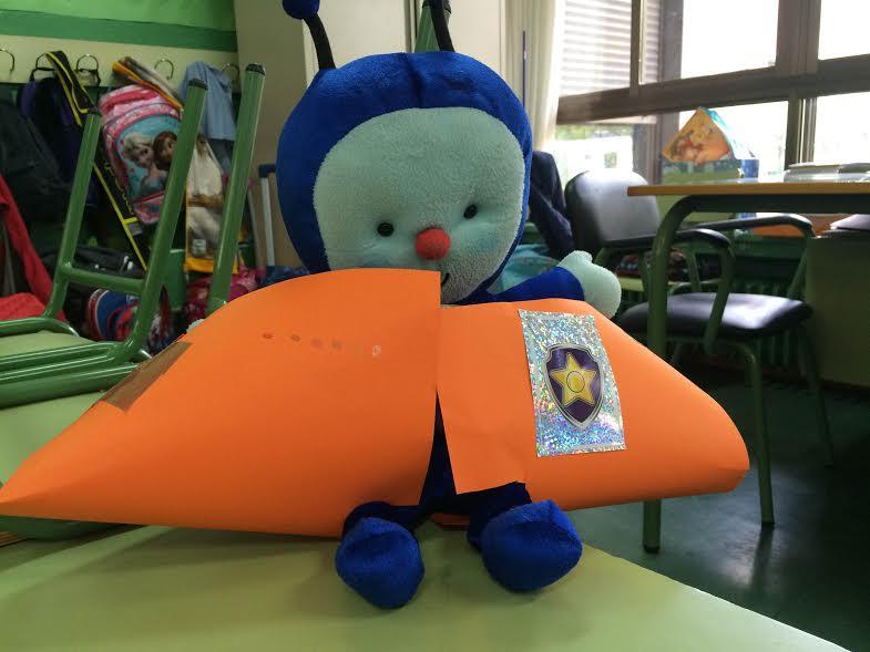 Pupi y su nave espacial