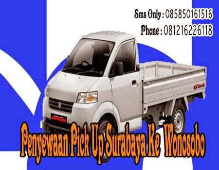 Penyewaan Pick Up Surabaya Ke Wonosobo