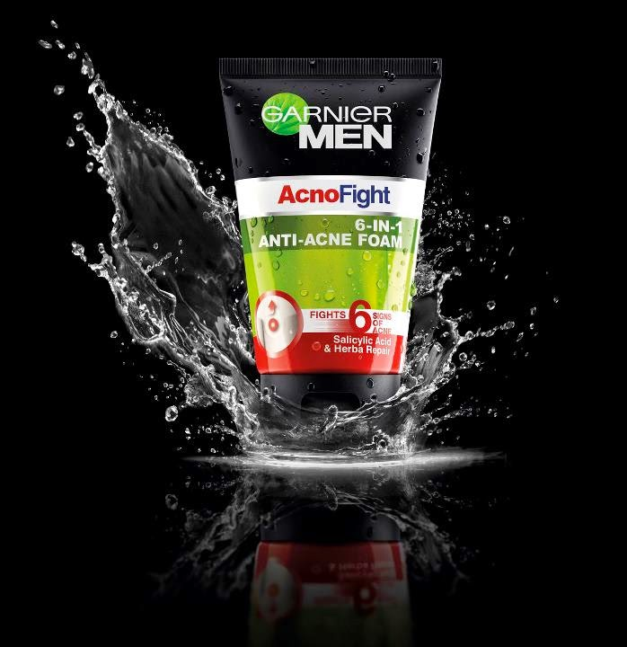Ilustrasi Gambar Garnier Men Acno Fight