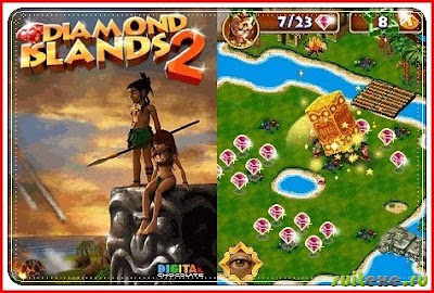 download game petualangan Java dan Symbian Diamond Island 2