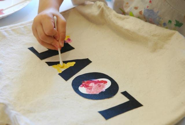 Tote Bag Gift Kids Can Make