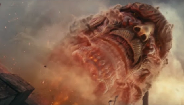 Attack on Titan live action still colossal