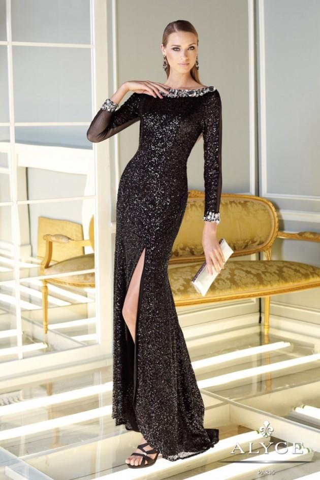 Increíble colección de vestidos Maxi color negro | Moda y Tendencia