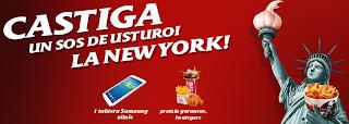 www.kfc.ro/promotie Concurs 2013 - mananci si castigi o vacanta la New York