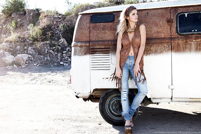 Chalecos verano 2016 AF JEANS. Moda verano 2016. Ropa de mujer de moda 2016.