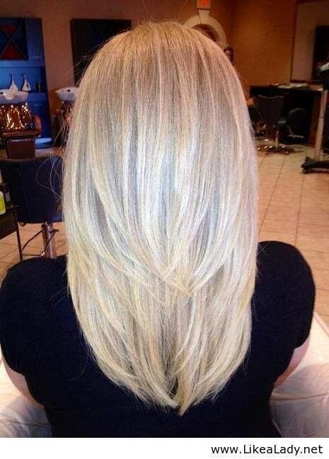 Причёска лесенка фото сзади