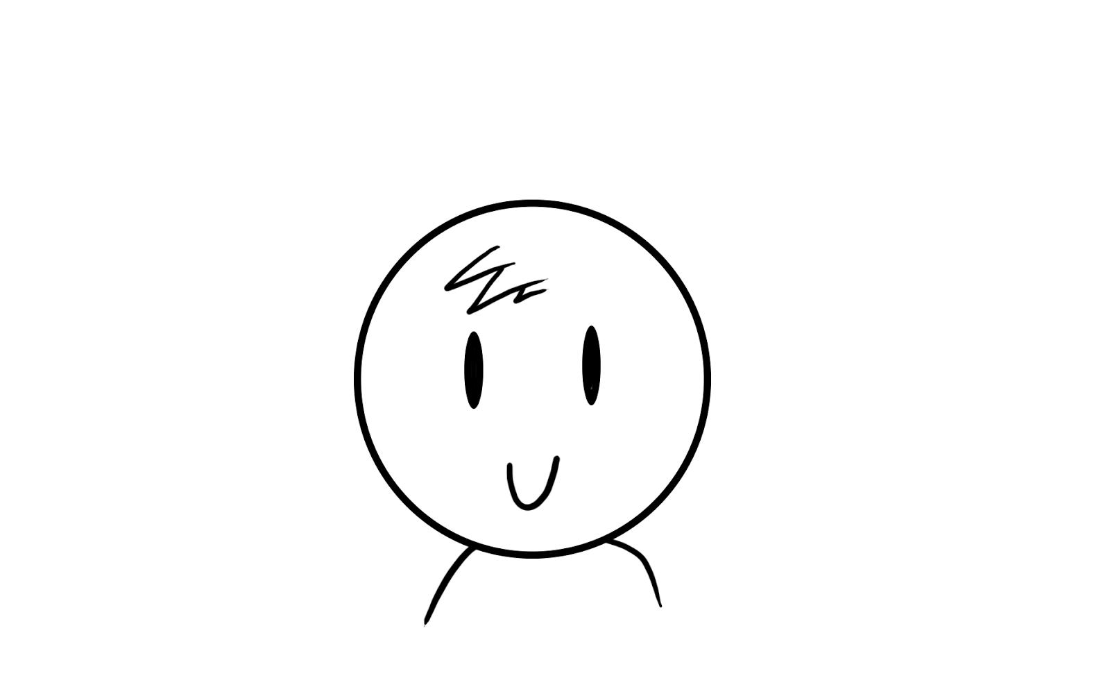 David\'s Animation Studio Practice: Head turning on Photoshop