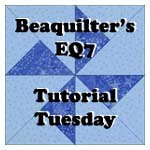 Beaquilter&#39;s EQ7 tutorials