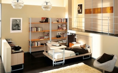 dormitorio masculino moderno