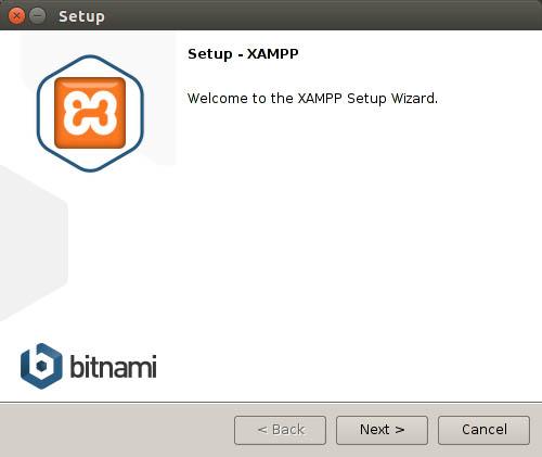 welcome to the xampp setup wizard
